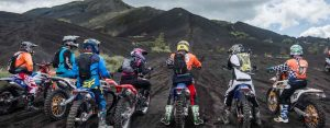 bali dirt bike kintamani black lava volcano