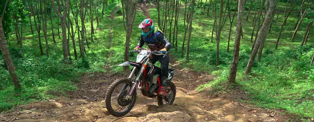 bali dirt bike negara rubber forest trails bali